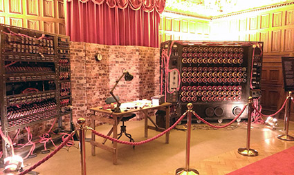 Turing in the Ballroom with a Bombe